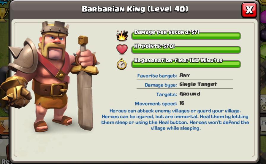 Barbarian King Clash o...