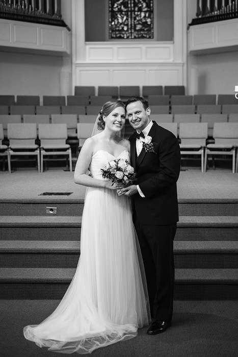 Wedding Photography at Columbia Baptist Church in Falls Church