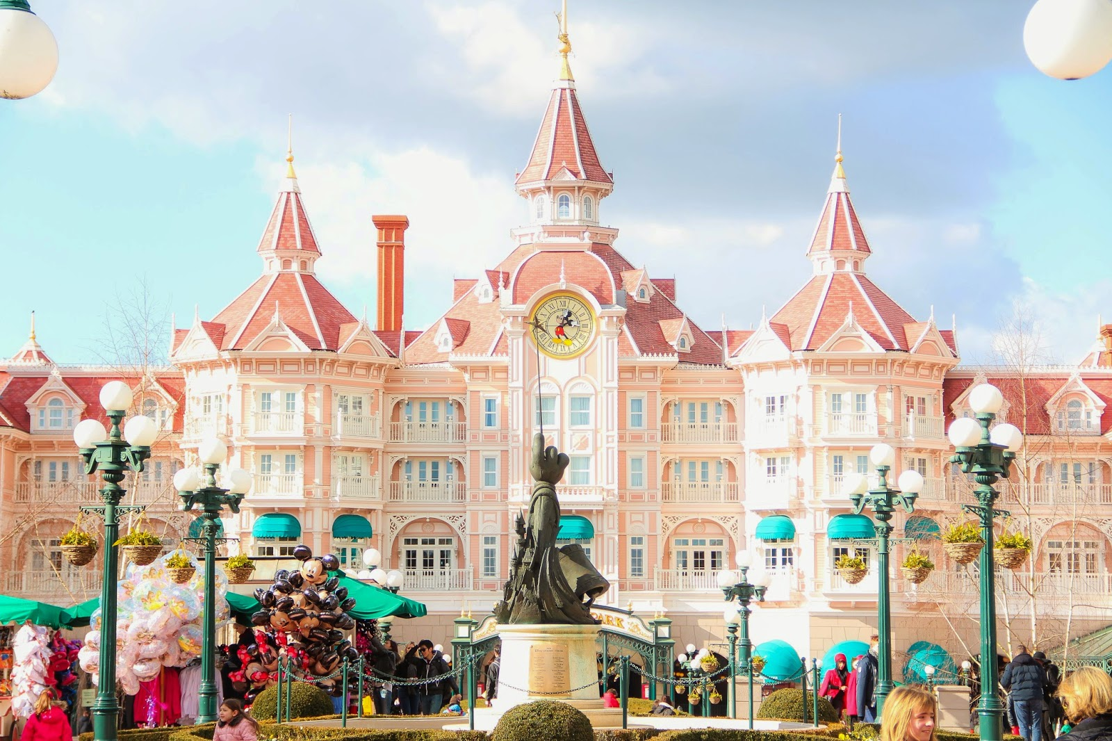 Hotel rose Disneyland