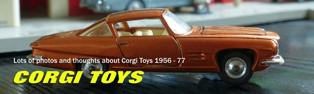 I LOVE CORGI TOYS