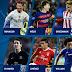 Os melhores jogadores da quinta rodada da Champions League
