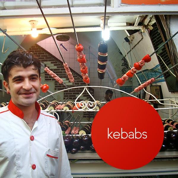 Kebabs Istanbul Turkey