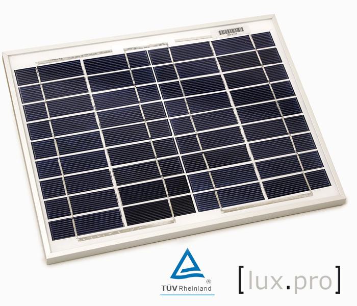 Jard n solar paneles solares peque os de 12 voltios para for Panel solar pequeno