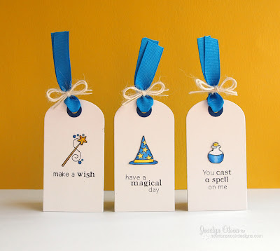 Magical Tags by Jocelyn Olson using Magical Dreams stamp set