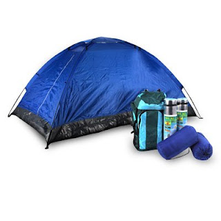 Complete 6-piece camping set, Image