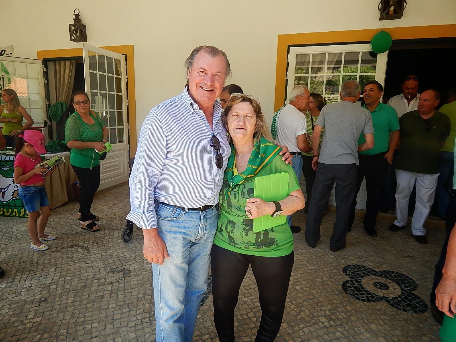 Com Carlos Lopes