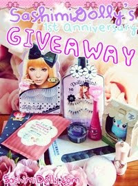 Sashimi Dolly ~1ST ANNIVERSARY GIVEAWAY~