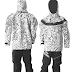 Сухой костюм Dry Fashion Ice - Print Fabric размер XS