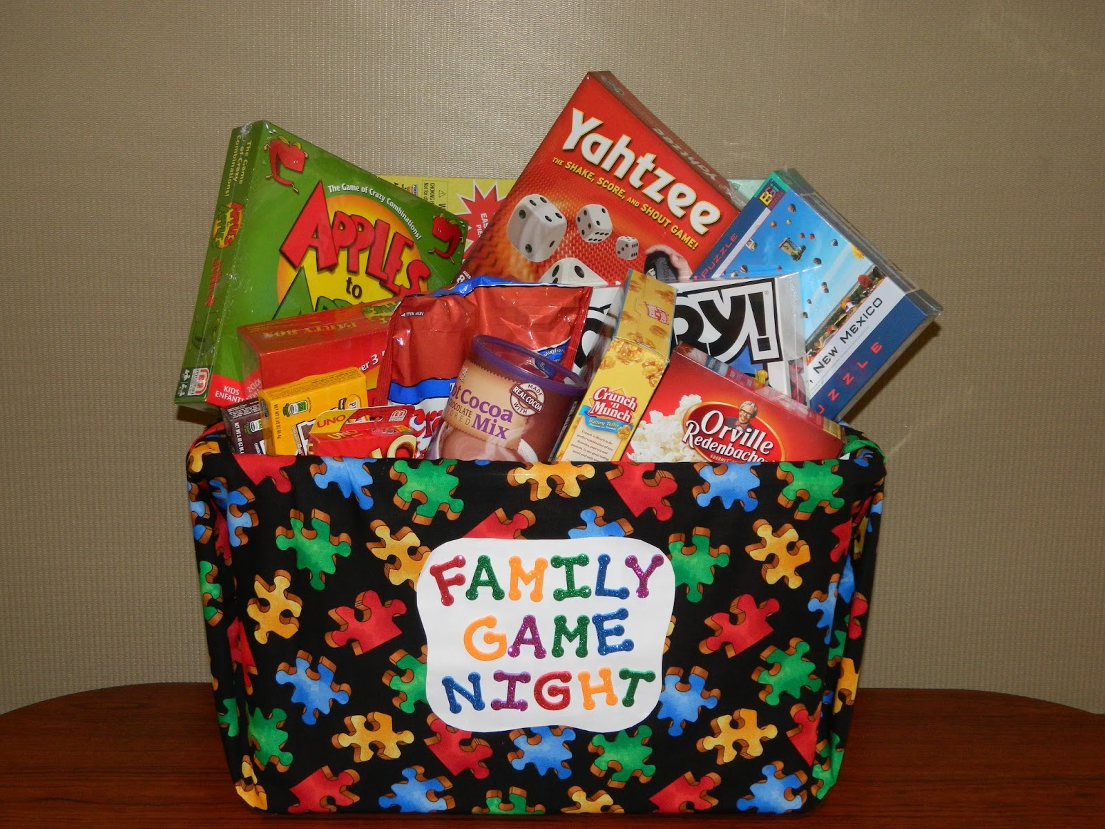 Family And Friends Basket Auction