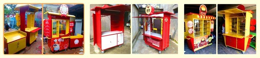 Food and Baverage Carts Design