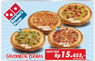 Harga Menu Domino Pizza Indonesia