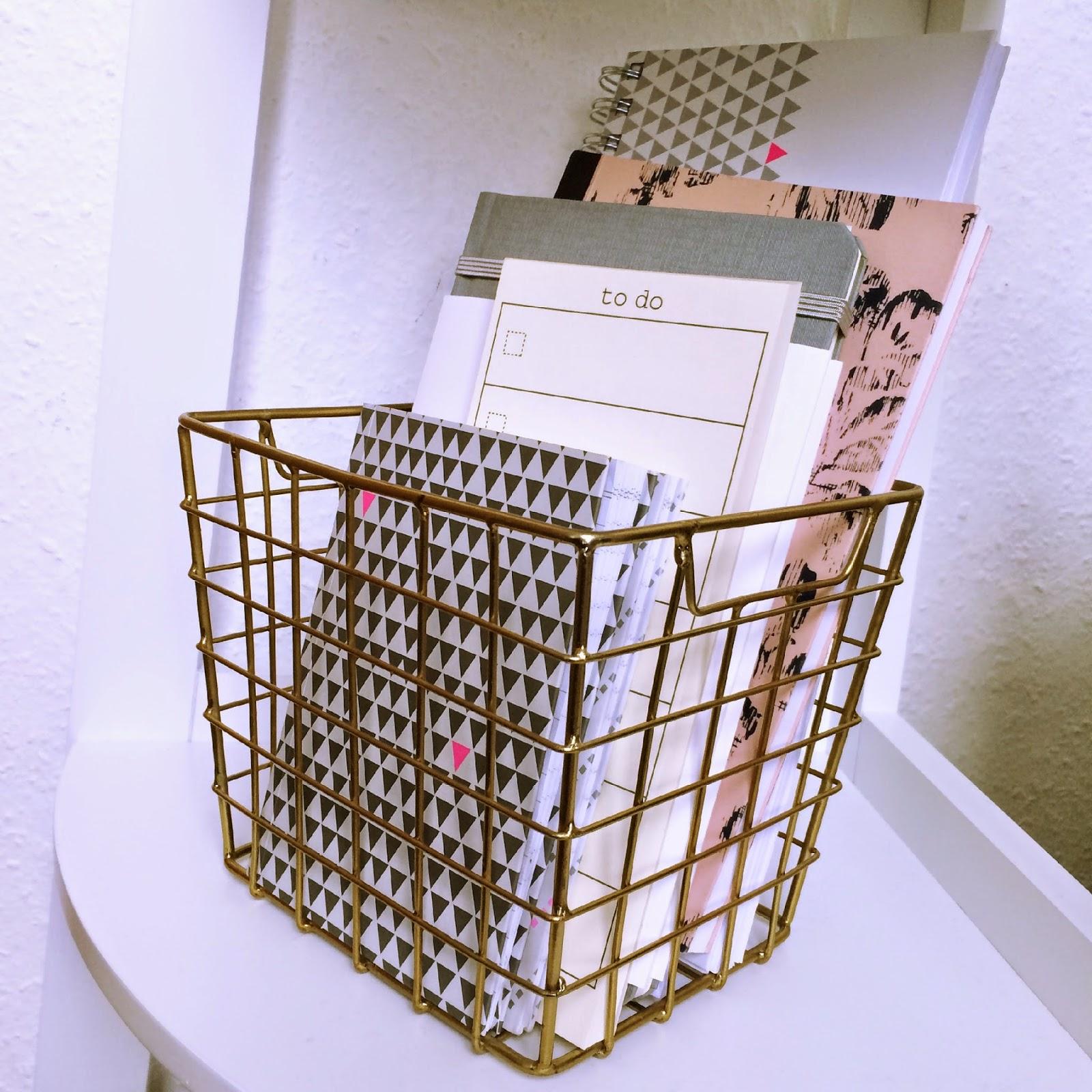 panier metallic H&M