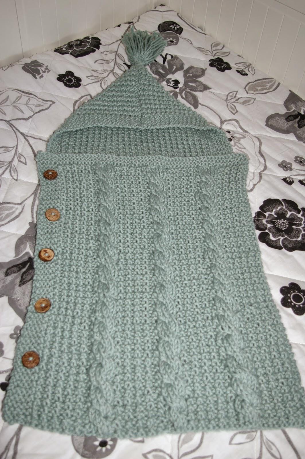Bulldoz cosicas de lana saco bebe - Puntos de agujas de lana ...