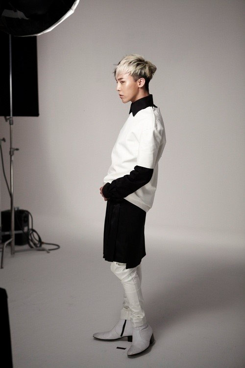 G-Dragon The Saem cosmetics me2day teaser
