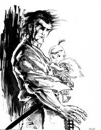 Lone Wolf and Cub comic review by Kazuo Koike
