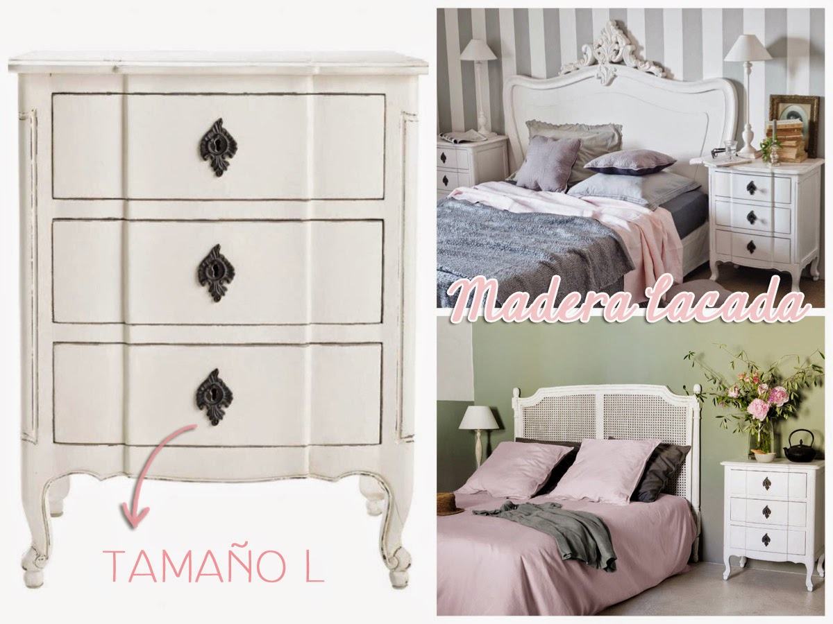 decoración de dormitorio mesillas de noche