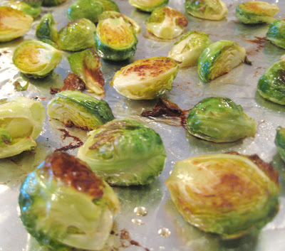 ... Foodie.: Roasted Brussels Sprouts with Sherry-Dijon Caramelized Onions