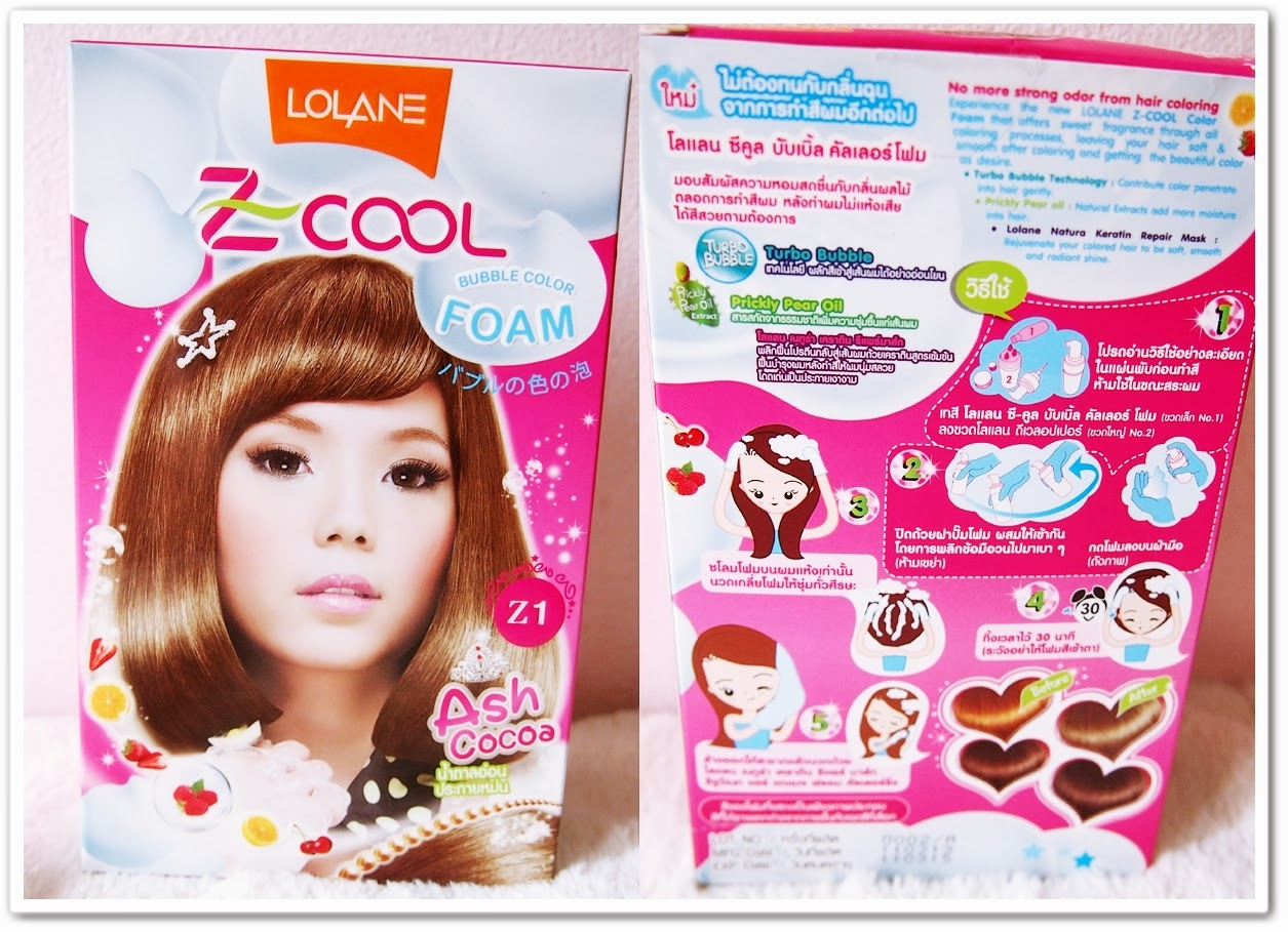 Journey On Beauty Review On Lolane Z Cool Bubble Hair Dye In Ash Cocoa