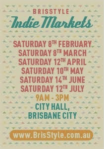 City Hall indie Market Dates 2014