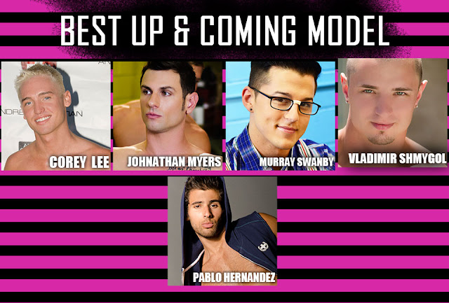 Best up and coming model OMFG awards by Andrew Christian