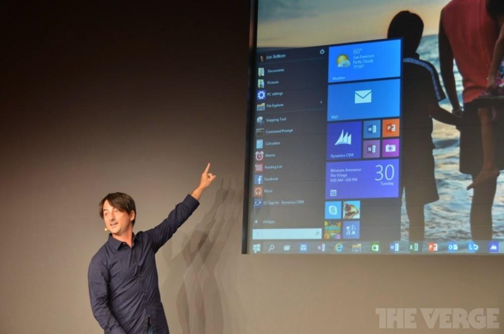 مايكروسوفت ستطلق ويندوز 10 سنة 2015 - التقنية نت - technt.net