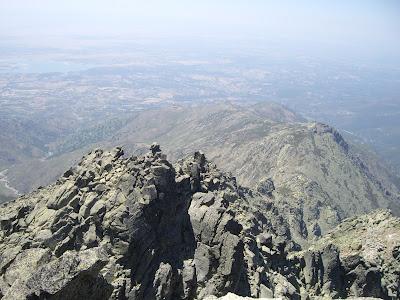 vue périphérique au sommet de l'Almanzor