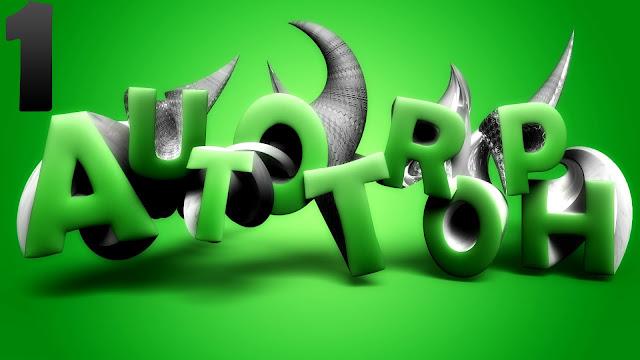 3д буквы в фотошоп