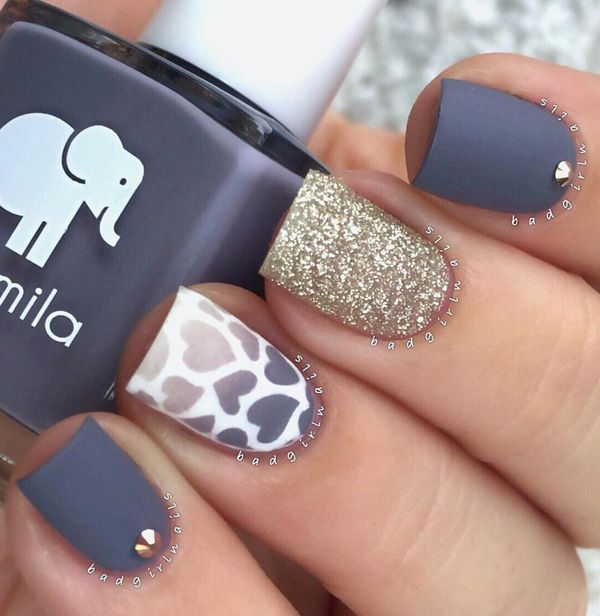 Top 100 Nail Art Ideas That You Will Love ~ Nail Art Designs