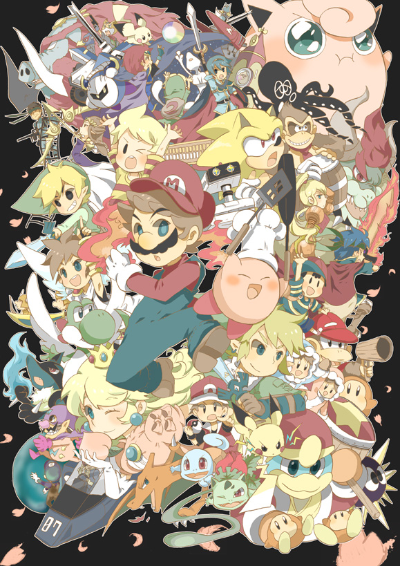 Anime Characters For Smash : Gaming rocks on game art super smash bros gallery