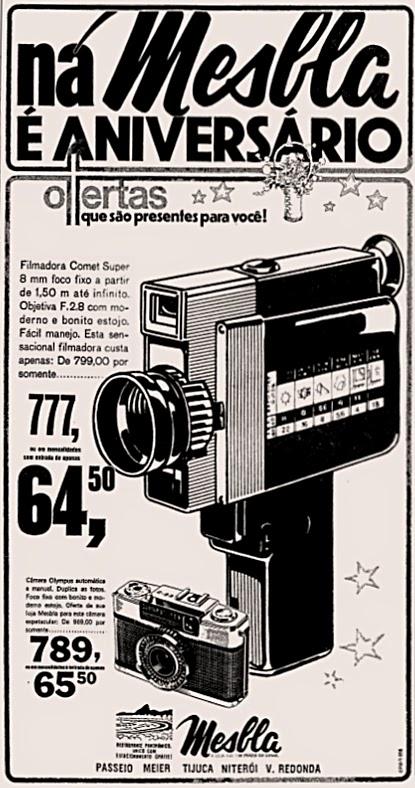 mesbla. 1975. propaganda década de 70. Oswaldo Hernandez. anos 70. Reclame anos 70 .