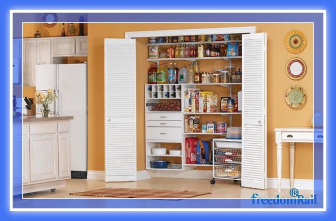 Dise os de muebles despensa pantry madera y melamina web for Disenos de muebles para cocina en madera