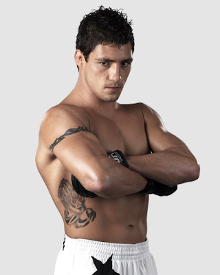ufc mma  welterweight fighter diego sanchez picture image