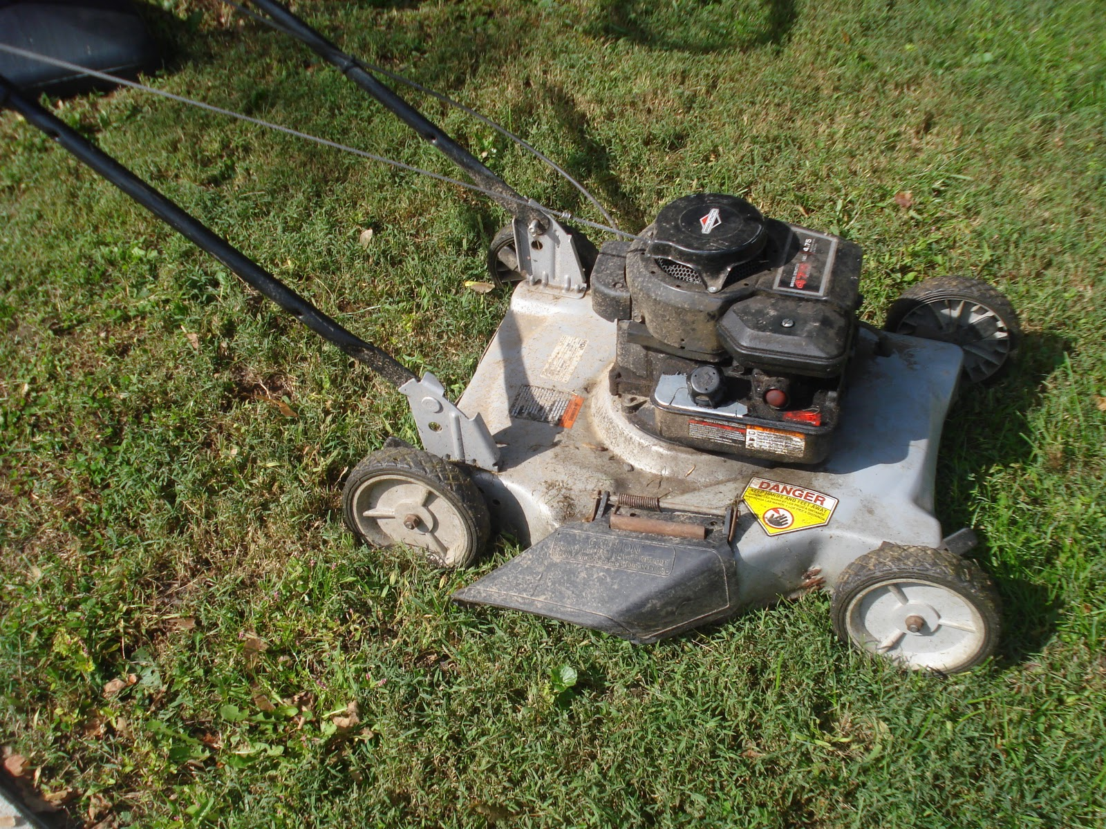 Lawn Mower Maintenance Part 1