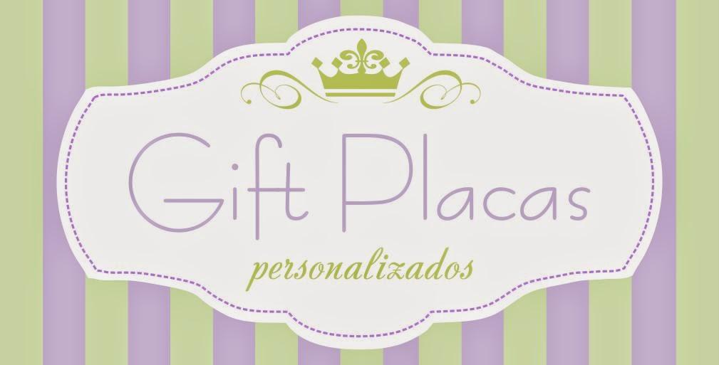 Gift Placas - Personalizados