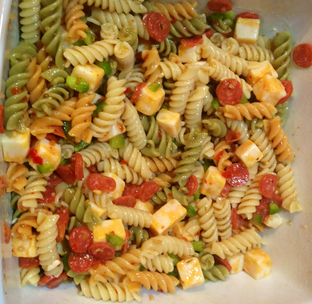 not messy i 39 m just busy pasta salad recipe