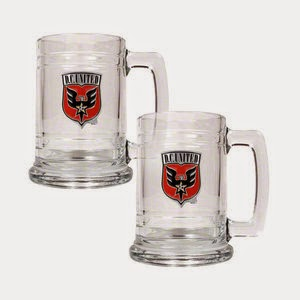D.C. United MLS Glass Tankard Set
