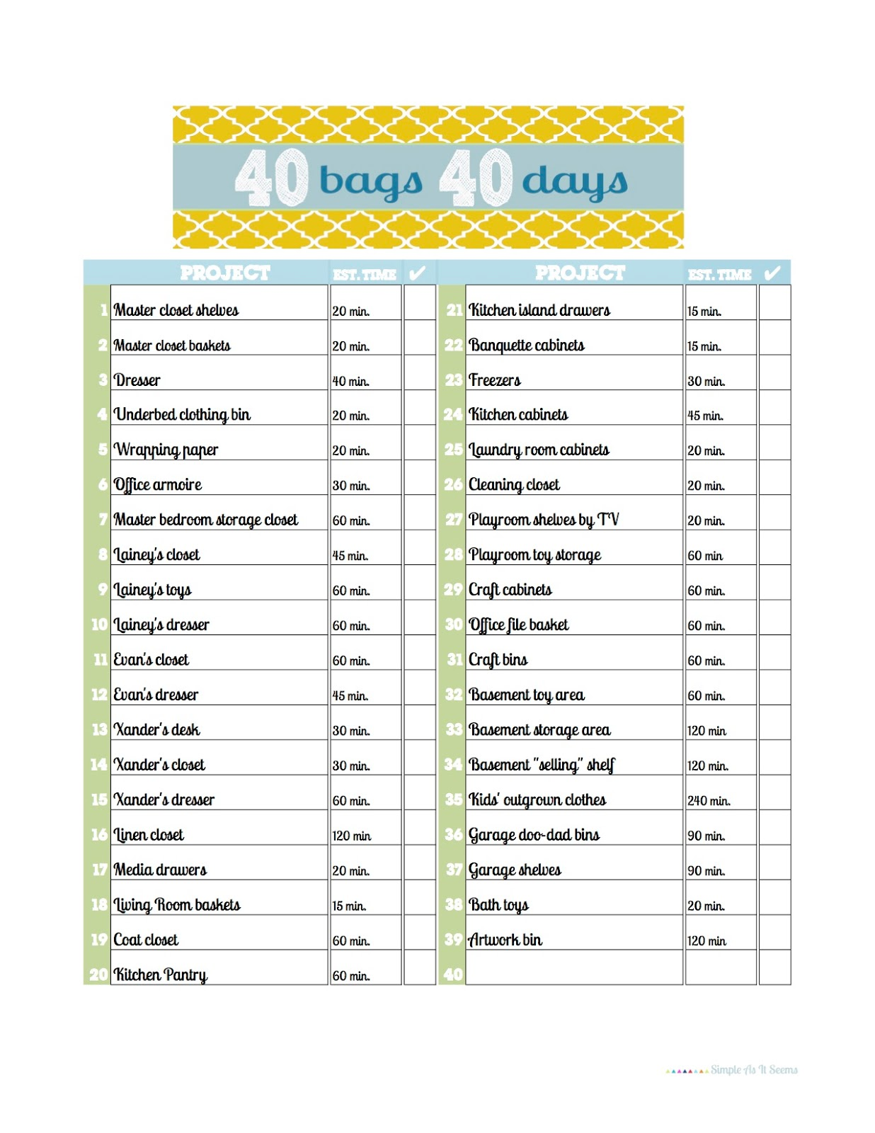 Sly image throughout 40 bags in 40 days printable