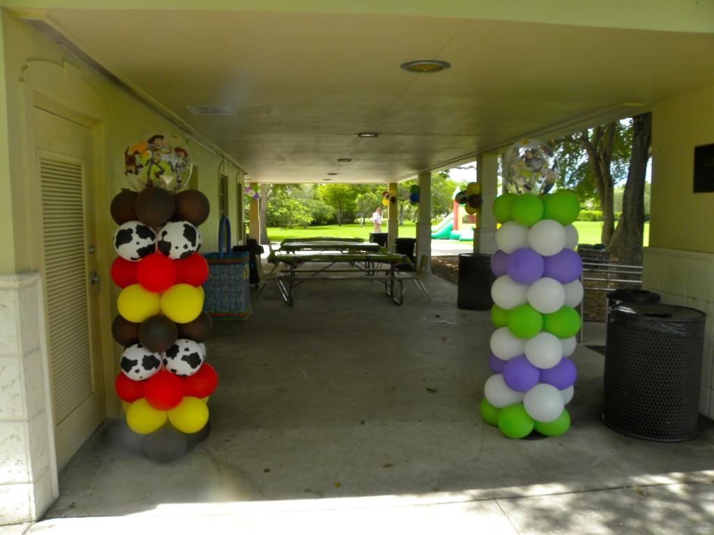 Adornos con globos para fiestas fiestas y todo eventos - Idea de decoracion ...