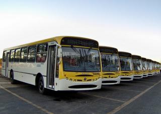 Paralisação de ônibus no DF