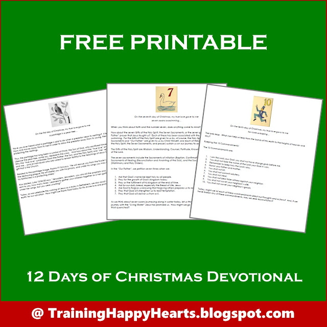 photo relating to Printable Devotions named Working out Content Hearts: Purchase Your Totally free PRINTABLE 12 Times of