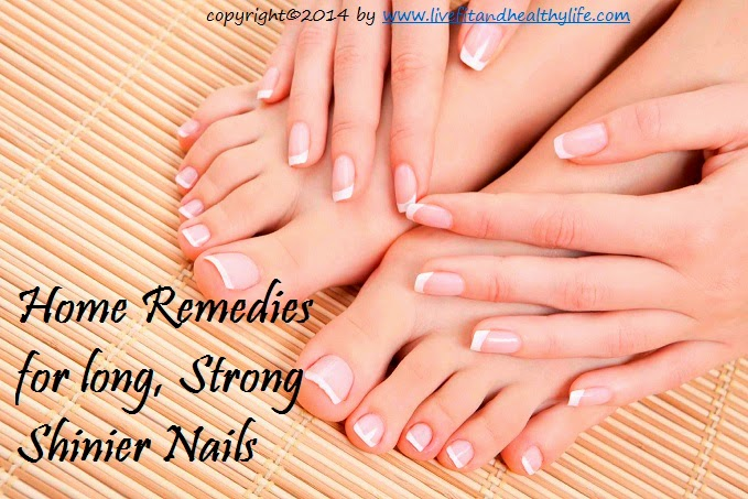 Home Remedies for long, Strong Shinier Nails - Health care, beauty ...