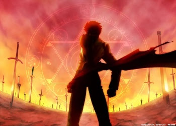 Emiya Shirou Fate Stay Night Unlimited Blade Works
