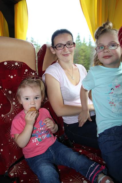 Дорога в Тарту с детьми