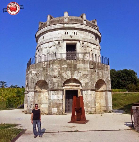 Rávena - Mausoleo di Teodorico