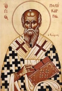 + Polycarp of Smyrna, Bishop and Martyr +
