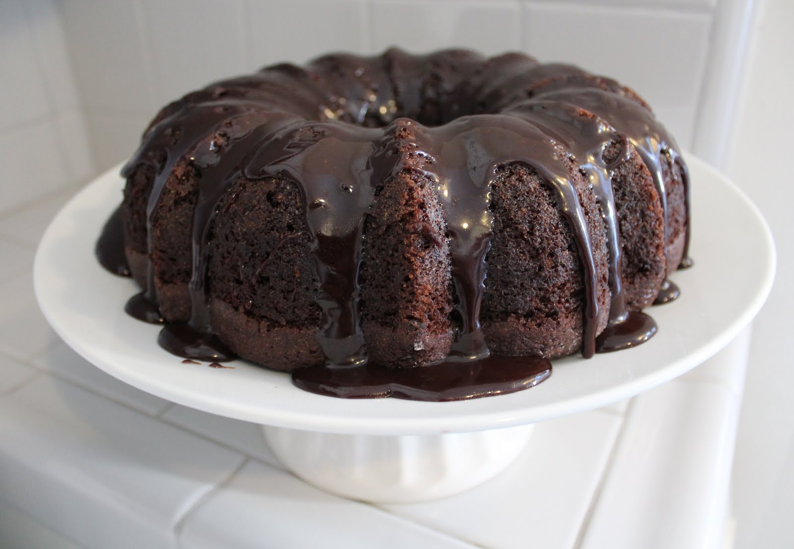 The BEST EVER Chocolate Bundt Cake and Chocolate Icing! Our family ...