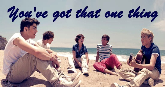 You've got that one thing.