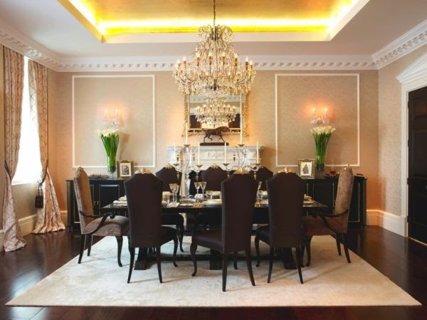 lampu hias ruang makan
