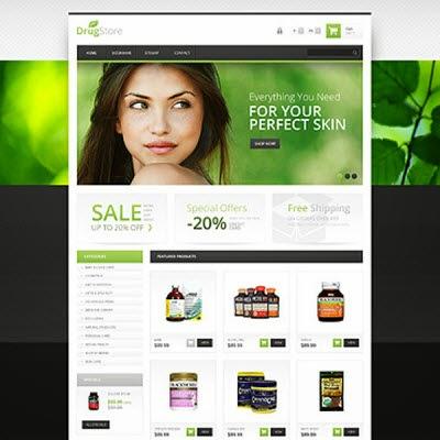 Responsive Drugstore PrestaShop Theme