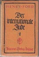 El judío internacional, el mayor problema mundial